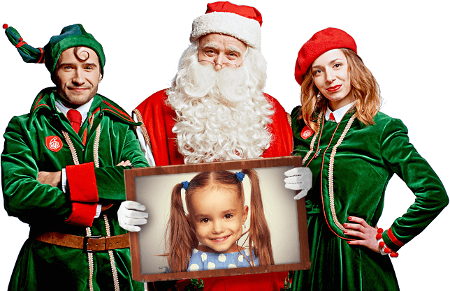 Lettera di Babbo Natale e il video originale di Santa Claus 53bc43a4811b