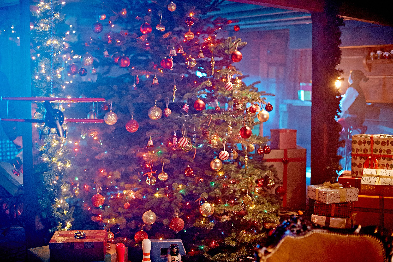 Decorazioni Natalizie In Inglese.Babbo Natale Usa Elfi